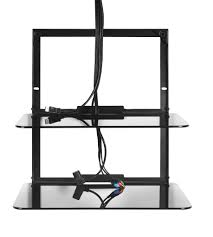 Wall Shelves amazon com omnimount blade 2 wall shelves black home audio