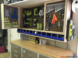 Storage Wall Cabinets With Doors Tool Storage Wall Cabinet Tool Storage Storage And Walls