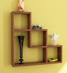 Wooden Shelves Pics by L Shaped Wall Shelf By Home Sparkle Online Wall Shelves Home