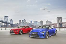 lexus new york fashion week lexus to feature all new lc 500 lc 500 hybrid at new york auto show