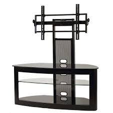 tv cabinet for 65 inch tv transdeco glass tv stand with mounting system for 35 65 inch screens