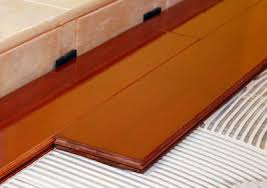 are you installing glue engineered flooring backwards wood