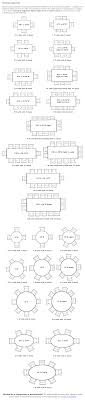 Dining Room Table Sizes Dining Table Seating Capacities Chart By Size And Shape