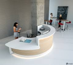 Reception Desk Curved Valde Curved Reception Desk By Mdd Luxemoderndesign