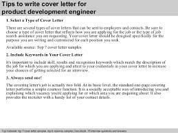 brilliant ideas of cover letter for product development job in