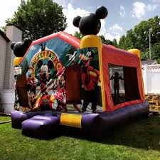 mickey mouse clubhouse bounce house bouncers si ny nj beeline entertainment
