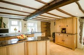 Kitchen Design Cornwall by Solid Oak Free Standing Bespoke Kitchen Cornwall Samuel F Walsh