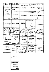 Illinois Map With Counties by La Salle County Illinois Maps And Gazetteers