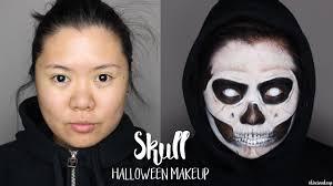 Skull Face Makeup Halloween Skull Makeup Grim Reaper Makeup Halloween 2016 Kirei Makeup