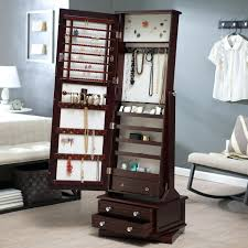 Corner Computer Armoire by Corner Computer Armoire Desk Jewelry Furniture Box Cherry Mirror