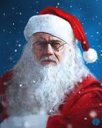 Jesse Breaking Bad Illustration Art Santa Television Santa Claus Breaking Bad