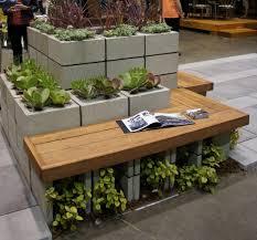 cinder block garden bench photos cinder block outdoor kitchen