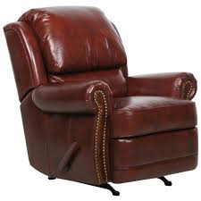 Burgundy Leather Chair And Ottoman Barcalounger Regency Ii Leather Recliner Chair Leather Recliner