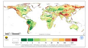 Global Wind Map Soil Heath Physical Fao Soils Portal Food And Agriculture