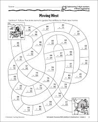 subtraction with regrouping coloring pages educational ideas