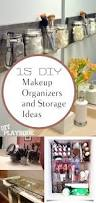 Bathroom Makeup Organizers 15 Diy Makeup Organizers And Storage Ideas How To Build It