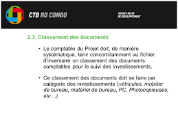 matériel de bureau comptabilité les inventaires formation des comptables ctb du 12 avril au 16