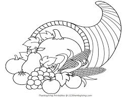 thanksgiving cornucopia coloring pages getcoloringpages com