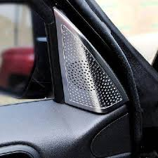 2014 jeep patriot interior front door triangle a pillar speaker tweeter horn decorative trim