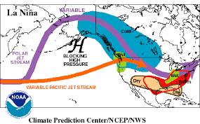 Jet Stream Map Nasa La Niña Returns Nasa Watches Sea Surface Indicators