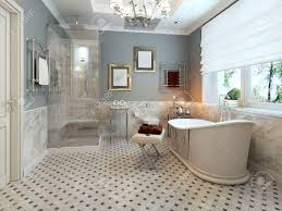 bright bathroom provence 3d render stock photo picture and