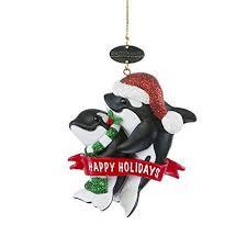 orca ornament seaworld shop