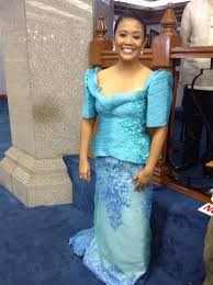 sona 2013 fashion show of filipiniana dresses terno patadyong