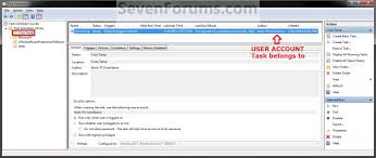 how to schedule a task in windows task create to run a program at startup and log on windows 7
