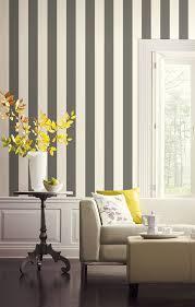 Black And White Striped Wallpaper by York Wallcoverings Sa9175 Ashford Stripes 3 Inch Stripe Wallpaper