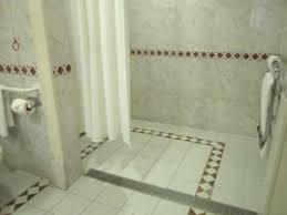 roll in shower hotel