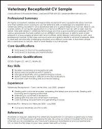 resume receptionist sample u2013 topshoppingnetwork com