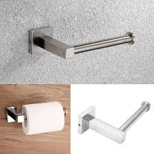 stainless steel bathroom tissue holder wall mount toilet paper