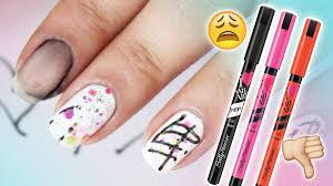 worst nail art worst nail art pen youtube nails