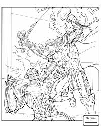 Cartoons Thor Flying Thor Thor Coloring Pages Colorpages7 Com Thor Coloring Page