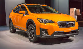 red subaru crosstrek 2018 2017 new york auto show 2018 subaru crosstrek autonxt