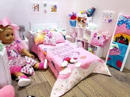 Big Barbie Dollhouse Tour Youtube by Jojo Siwa American Doll Bedroom Set Up New Room Tour