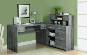 Gray Office Desk L Shaped Office Desks Free Shipping Officedesk