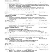Public Relations Resumes Journalist Resume Sample Reporter Resume Examples 2017 Latest