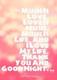 Thank You Love Quotes For Her by Music Is Love Love Is Music Music Is Life And I Love My Life