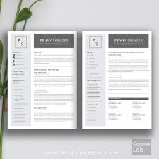 free modern resume designs and layouts creative resume template modern cv word cover letter 1 page