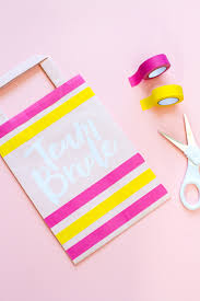 make these team bride goodie bags for your gal pals u2013 paperchase