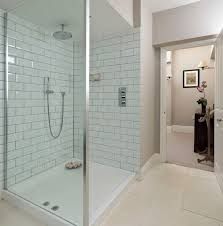 white subway tile bathroom ideas ingenious small bathrooms with shower only designs abpho