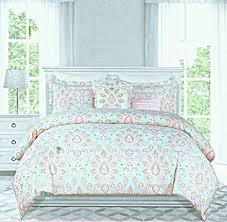 nicole miller girls duvet cover princess bedding 3pc set queen 100