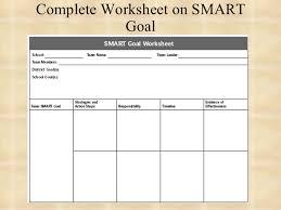 smart goal worksheet in spanish smart goal worksheet in spanish
