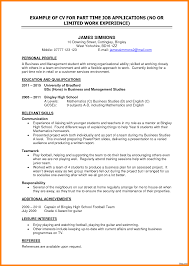 exles of current resumes basic resume exles for part time bkkresume parttime