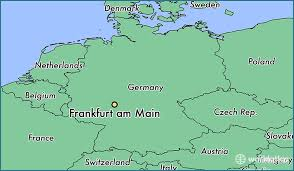 frankfurt on world map where is frankfurt am germany frankfurt am hesse