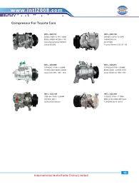 97 lexus lx450 ac compressor denso 6seu16c auto ac compressor toyota camry 2 4l 2 5l 2009 2011