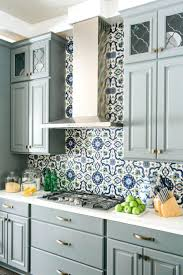 hand painted tile backsplash kitchen paint design design painted