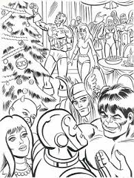 neato coolville 1984 marvel super heroes u0027 christmas coloring book