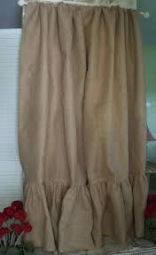 Colored Burlap Curtains 63 Best Shower Curtains Curtain Panels Images On Pinterest